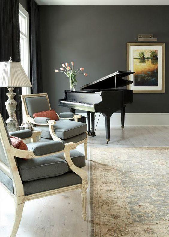Как разместить пианино в интерьере вашего дома9