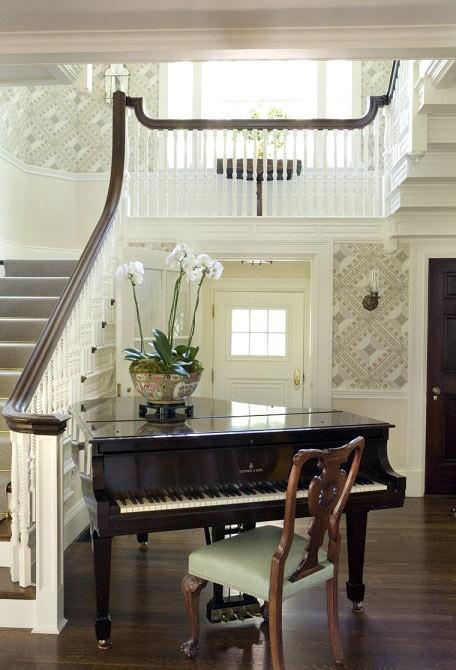 Как разместить пианино в интерьере вашего дома2