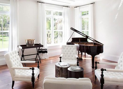 Как разместить пианино в интерьере вашего дома3