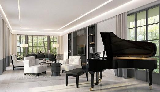 Как разместить пианино в интерьере вашего дома5
