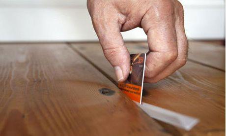 Как самостоятельно убрать скрип пола2
