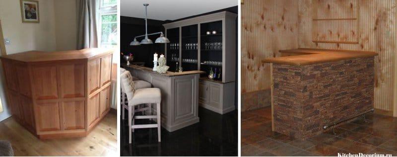 Как сделать барную стойку в кухне своими руками2