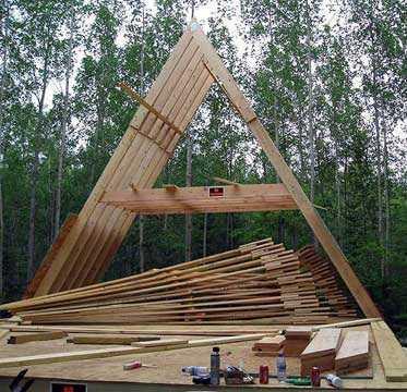 Как сделать двухскатную крышу: пошаговая инструкция в фото и видео1