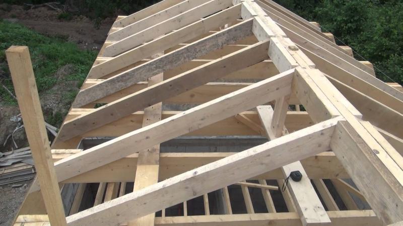 Как сделать двухскатную крышу: пошаговая инструкция в фото и видео2