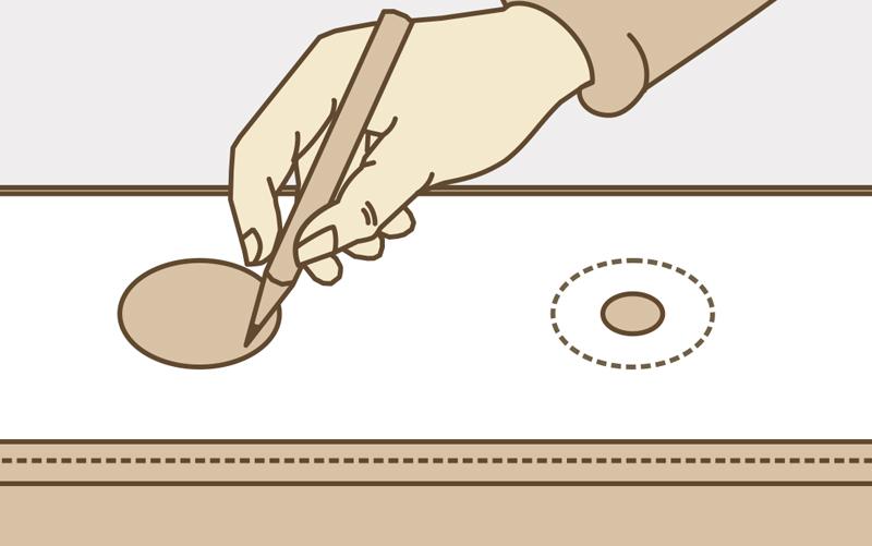 Как сделать кольца на шторы: инструкция, инструменты3