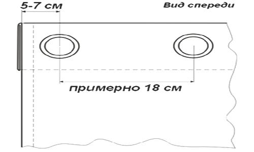 Как сделать кольца на шторы: инструкция, инструменты6