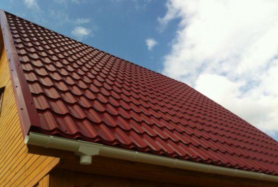 Как сделать крышу из металлочерепицы2