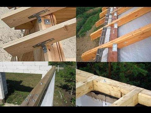 Как сделать односкатную крышу3