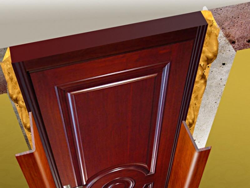 Как сделать откосы входной двери из мдф5