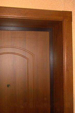 Как сделать откосы входной двери из мдф6