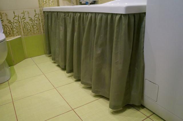 Как сделать шторку для ванной своими руками1