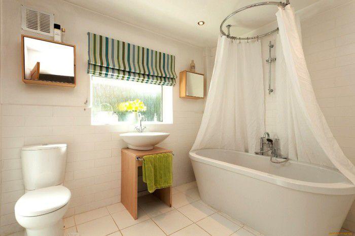 Как сделать шторку для ванной своими руками2