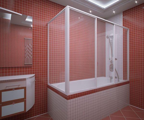 Как сделать шторку для ванной своими руками5