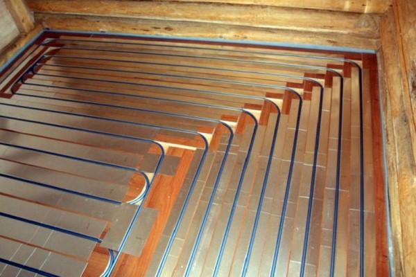 Как сделать теплый пол в частном доме на деревянный пол1