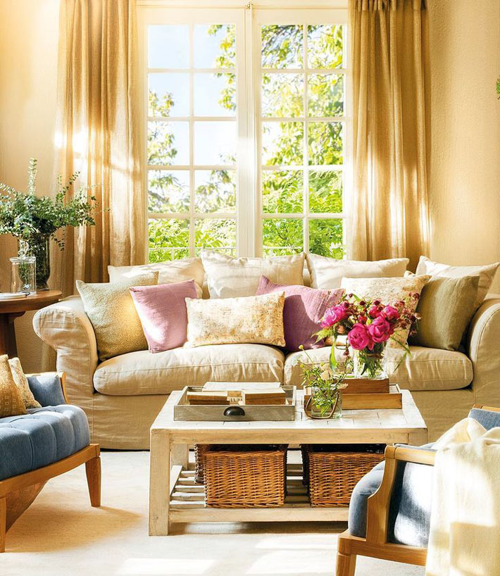 Как создать идеальный интерьер гостиной комнаты1