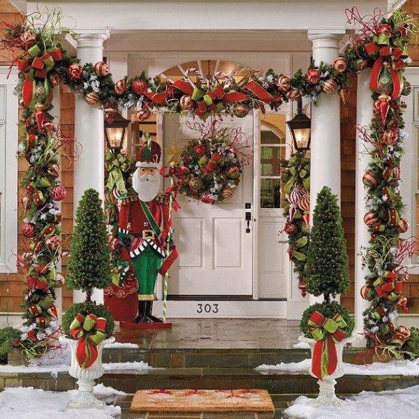 Как украсить дом к новогодним праздникам2