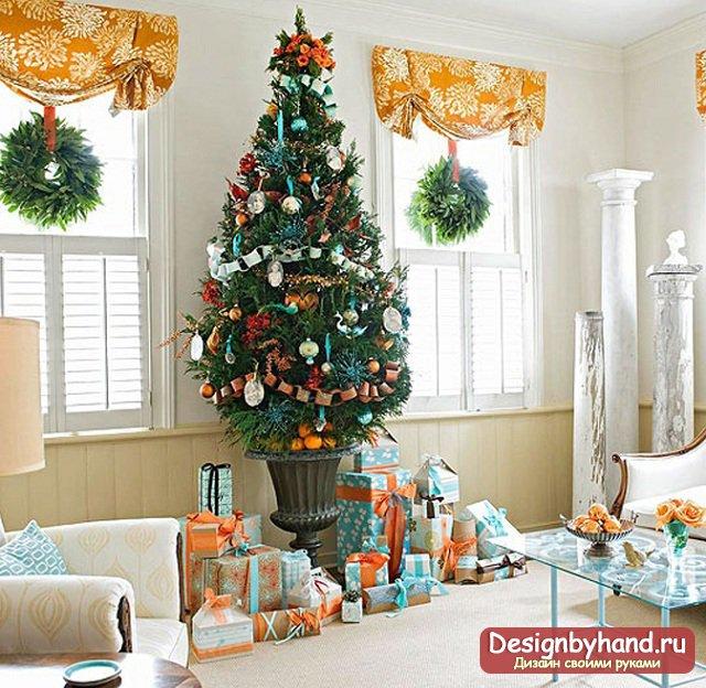 Как украсить дом к новогодним праздникам5