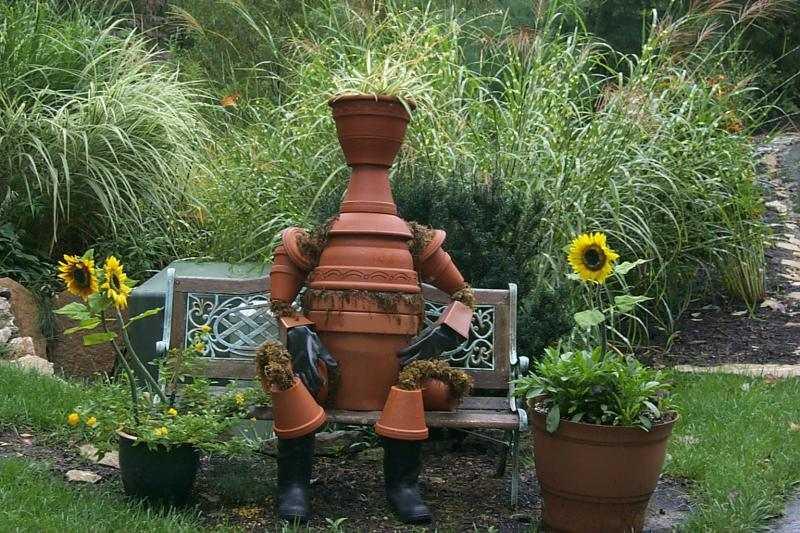 Как украсить садовый, приусадебный, дачный участок (50 фото)2