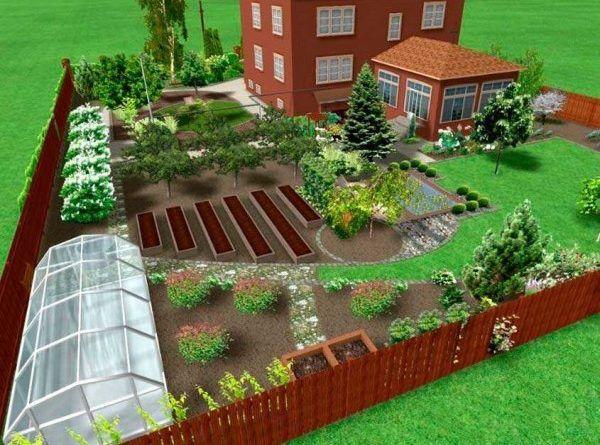 Как украсить садовый, приусадебный, дачный участок (50 фото)0