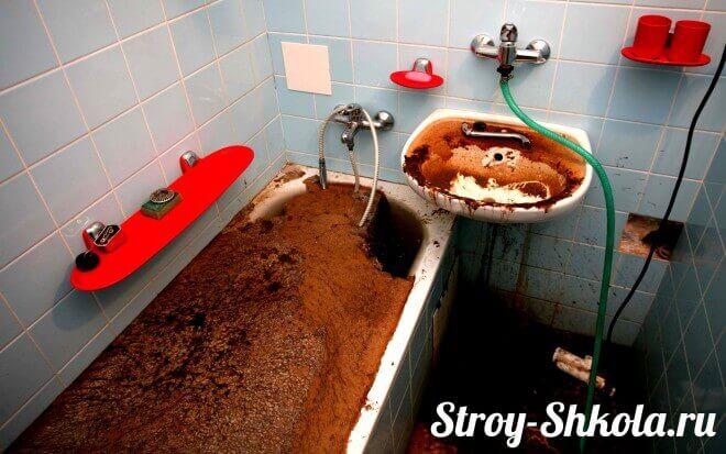 Как устранить канализационные засоры самому2