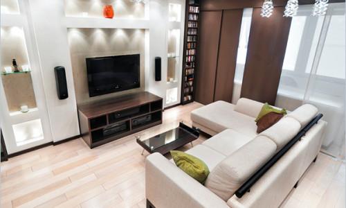 Как в интерьере разместить угловой диван?0