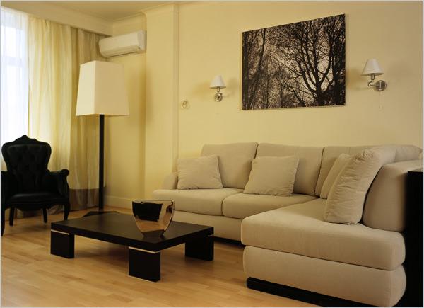Как в интерьере разместить угловой диван?1
