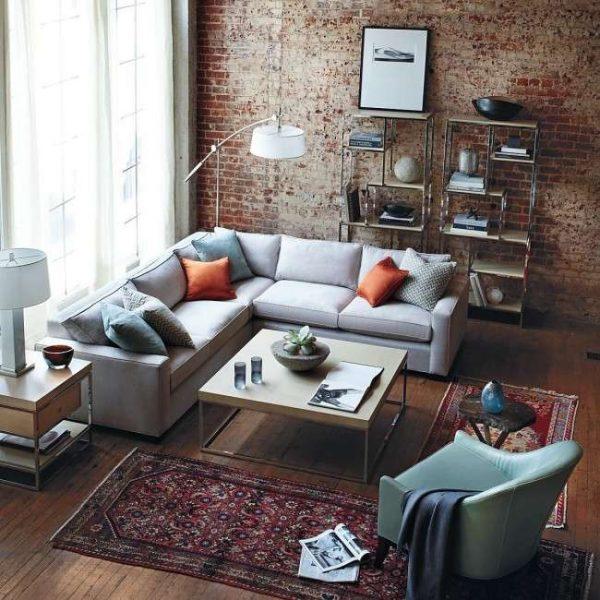 Как в интерьере разместить угловой диван?2