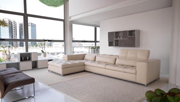 Как в интерьере разместить угловой диван?3