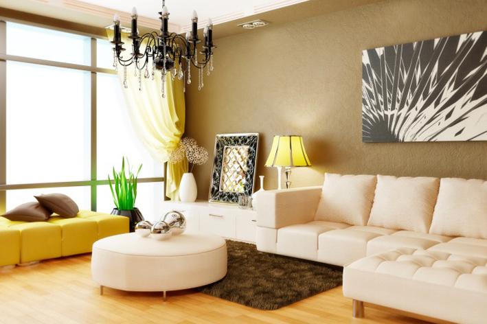 Как в интерьере разместить угловой диван?5