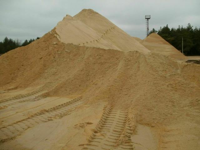 Как выбрать песок для фундамента0