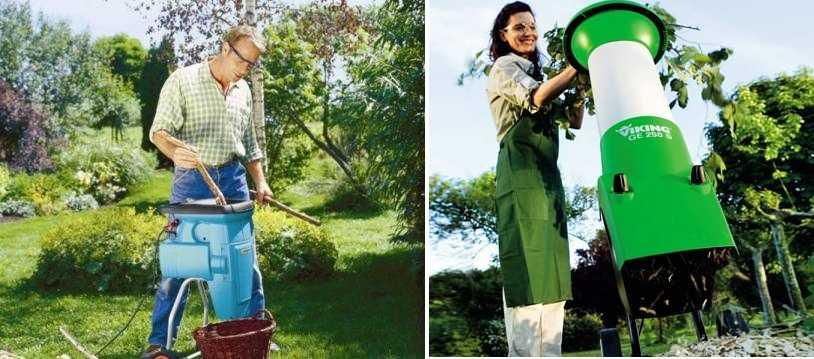 Как выбрать садовый измельчитель для веток и травы — лучшие модели3