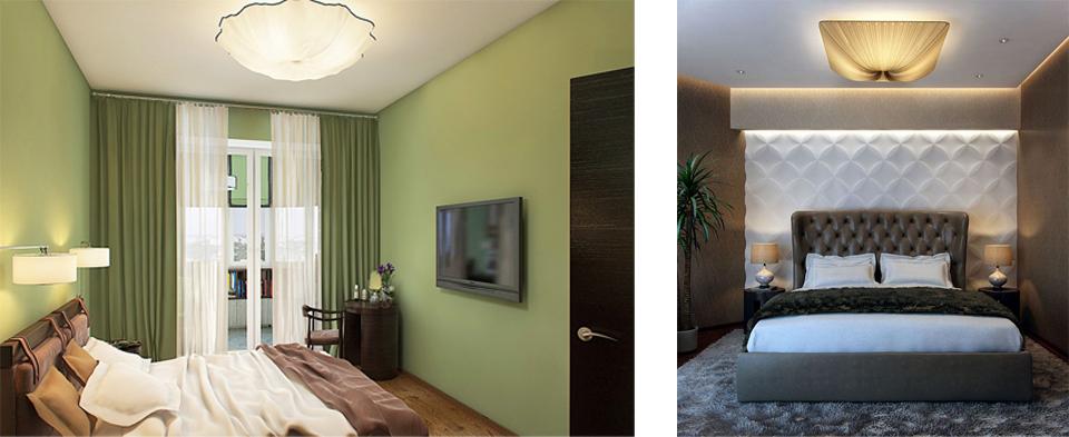 Как выбрать светильники в спальню?1