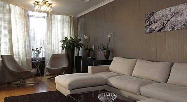 Как выполнить дизайн зала в панельном доме?1