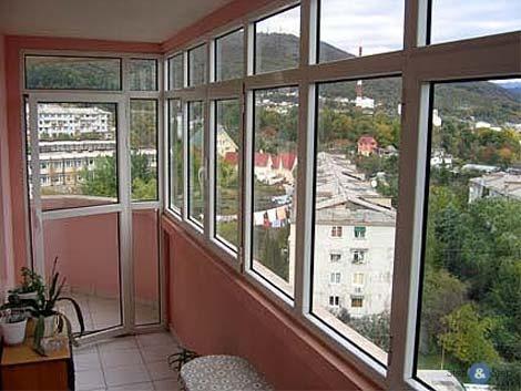 Как застеклить балкон или лоджию0