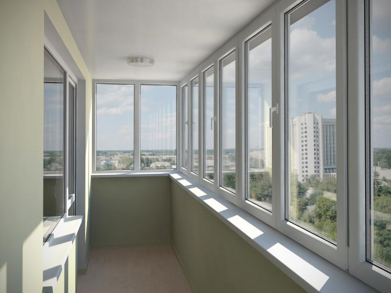 Как застеклить балкон или лоджию3
