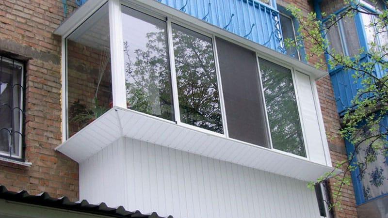 Как застеклить балкон или лоджию5
