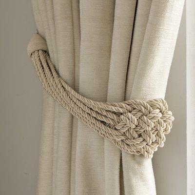 Как завязать кисти для штор: красивые узлы6