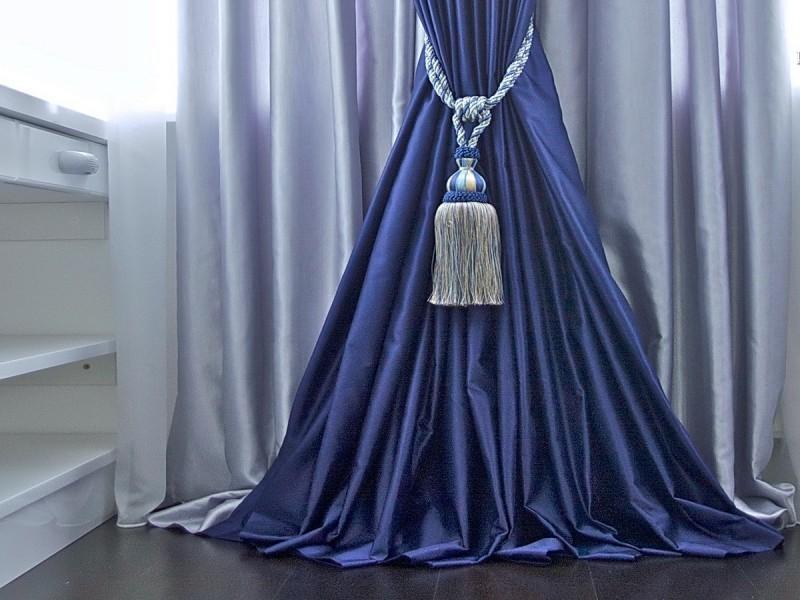 Как завязать кисти для штор: красивые узлы0