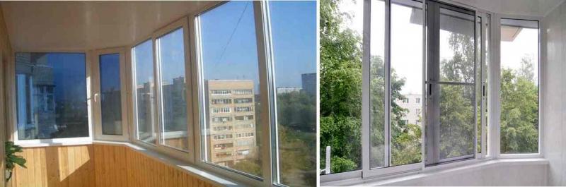 Какие балконы лучше, пластиковые или алюминиевые: подробный обзор2