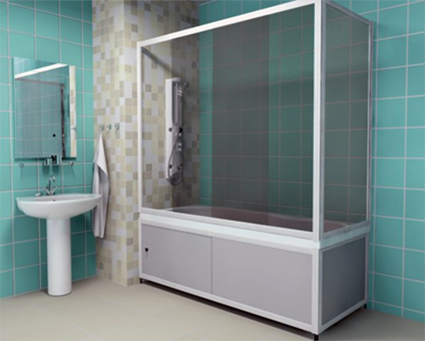 Какие бывают ширмы для ванной?6