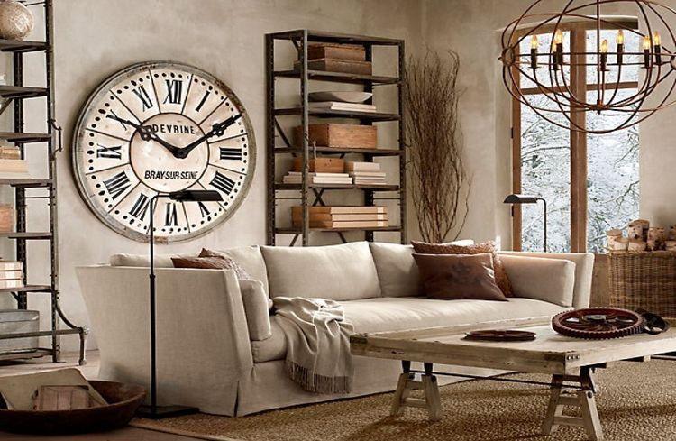 Какие настенные часы идеально подойдут в гостиную?3