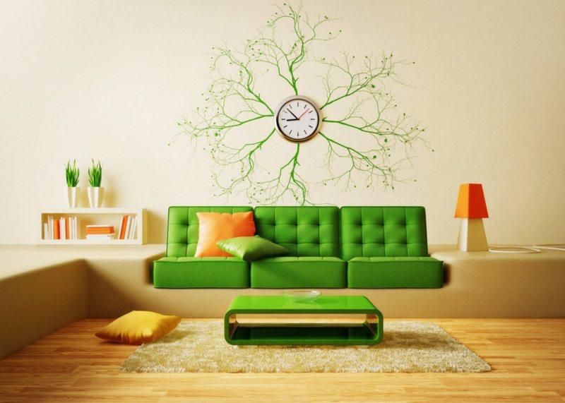 Какие настенные часы идеально подойдут в гостиную?4