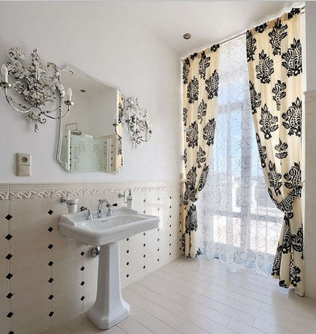 Какие шторы выбрать для ванной?0