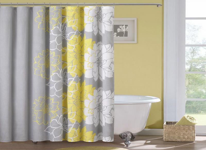Какие шторы выбрать для ванной?2