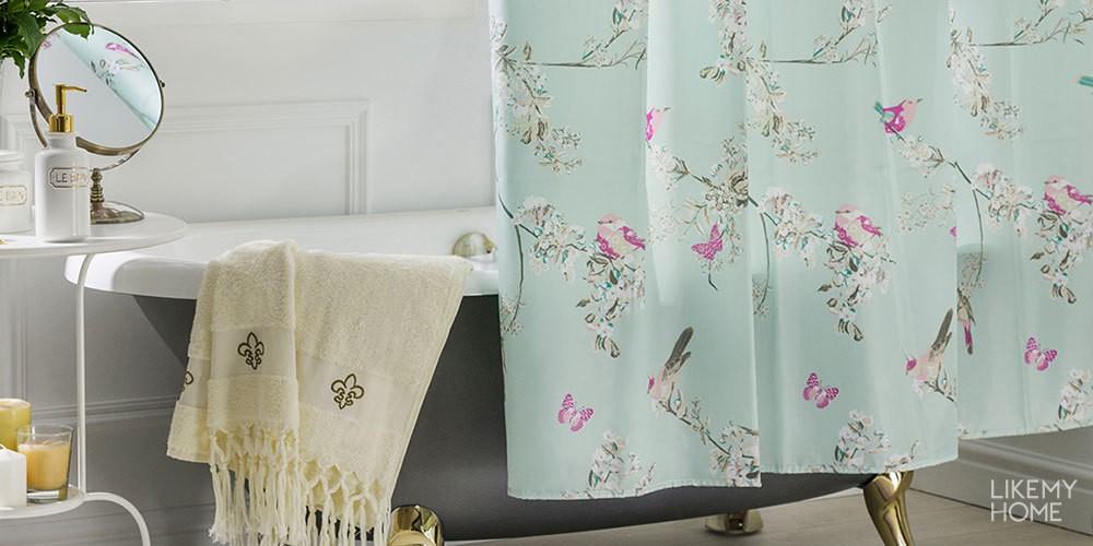 Какие шторы выбрать для ванной?3