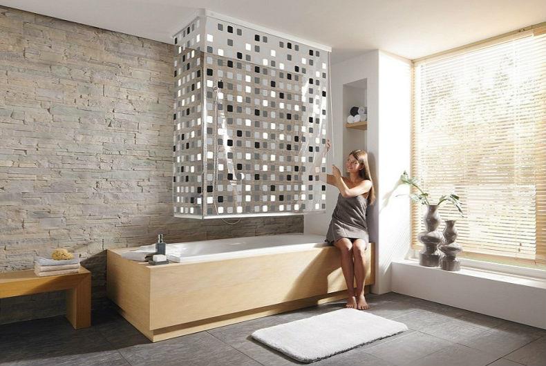 Какие шторы выбрать для ванной?5
