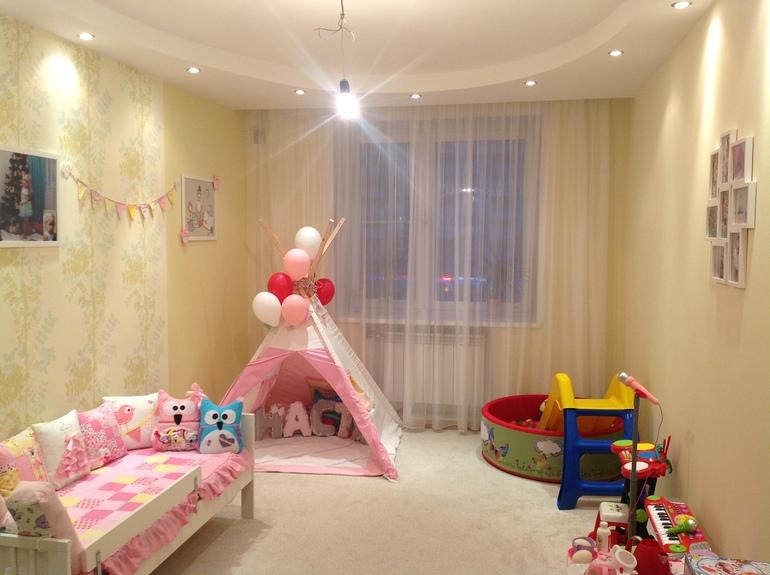 Какие шторы выбрать в детскую?0
