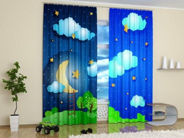 Какие шторы выбрать в детскую?3