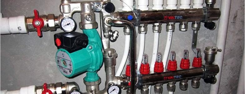 Комплектующие для водяного теплого пола: материалы и оборудование5