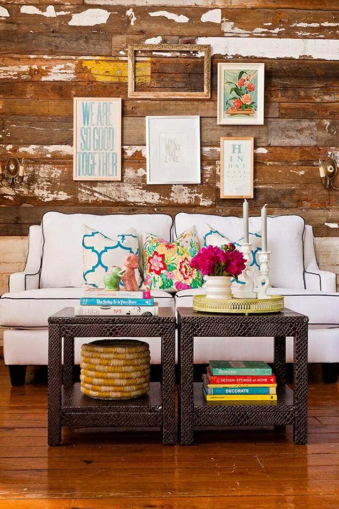 Композиции из модульных журнальных столиков в интерьере гостиной5